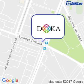 DOKA на мапі