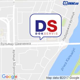 ДОКСЕРВІС на мапі