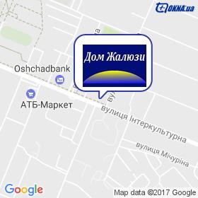Дім Жалюзі на мапі