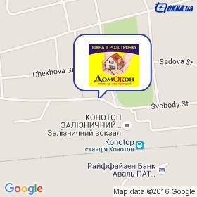 Павлов на карте