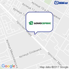 Домосервис-Николаев на карте