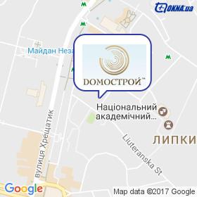 ДОМОСТРОЙ на мапі