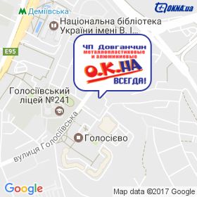 ДОВГАНЧИН на мапі