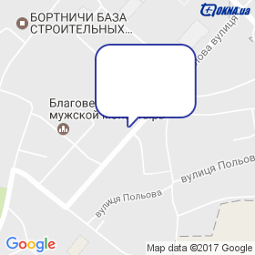 Компанія Екотех на мапі