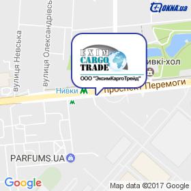 ЕксімКаргоТрейд на мапі