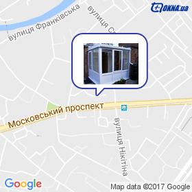 Єлецька Т.Л. на мапі