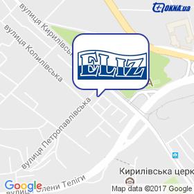 ЕЛІЗ на мапі