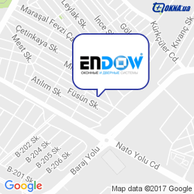 Endow на карте