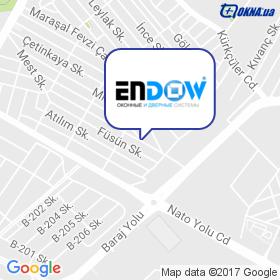 Endow на мапі