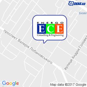 Енерго Інжиніринг на мапі