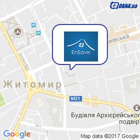 EnSave на карте
