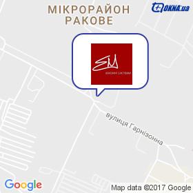Єременко М.С. на мапі