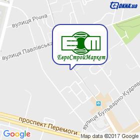 ЄВРОСТРОЙМАРКЕТ на мапі