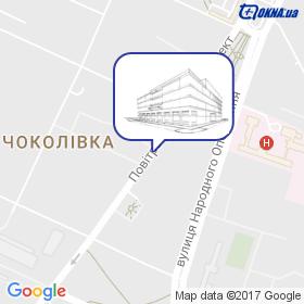ЄВРОКЛАС ВП на мапі