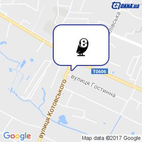 ЕВРООКНА на карте
