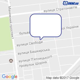 Фабрика вікон / ПП Зінчук Ю.В. на мапі