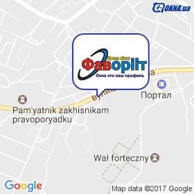 Фаворііт на мапі