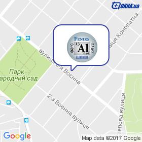 Фенікс на мапі