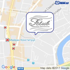 Fenster Club на мапі
