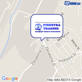 Финестра Трейдинг на карте