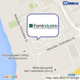 FomIndustrie Ukraine на карте