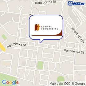 Формаг - Ильичевск, ДП на карте