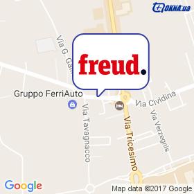 FREUD на мапі