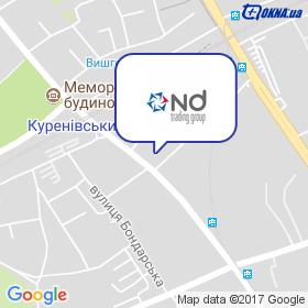 НД Трейдінг Груп на мапі