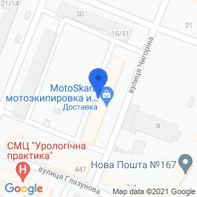 Галран на карте