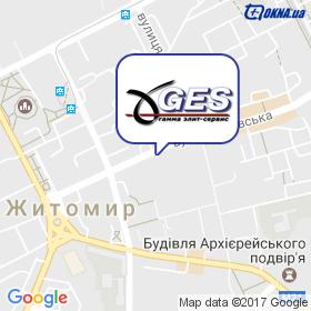 ГАММА ЕЛІТ-СЕРВІС на мапі