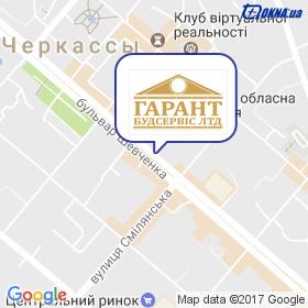 ГАРАНТБУДСЕРВИС ЛТД на карте