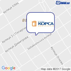ОКНА КОРСА (ЧП Гарбузюк В.А.) на карте