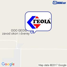 Геоід на мапі