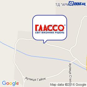 ГЛАССО - БЦ на карте