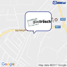 Глас Трьош Кривий Ріг на мапі