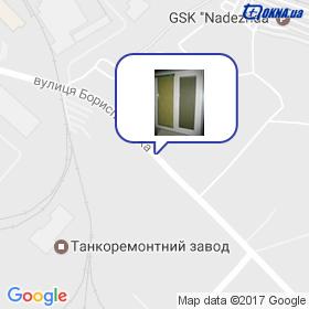 Голишко С.Г. на мапі
