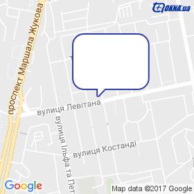 Гончаров на мапі