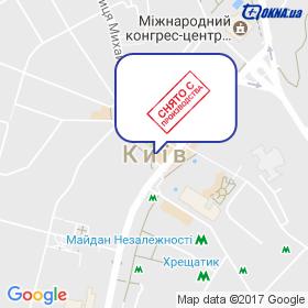 GPS, ТМ на мапі