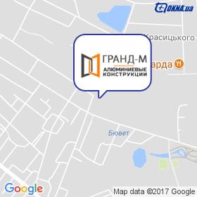 Гранд М на мапі