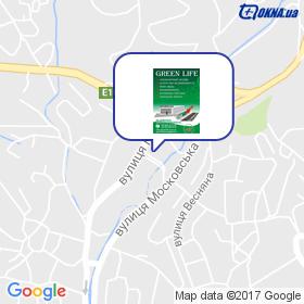 Грін Лайф на мапі