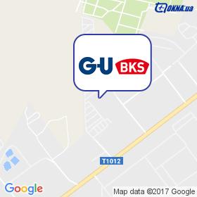 GU (G-U) на мапі