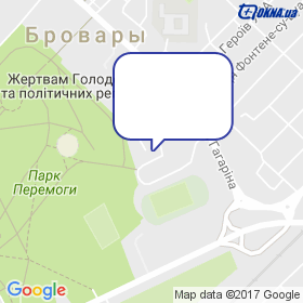Гузий на карте