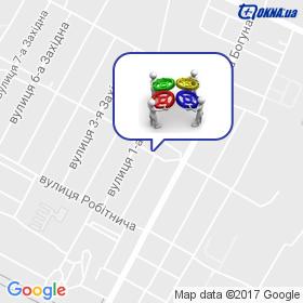 Хандусенко на мапі