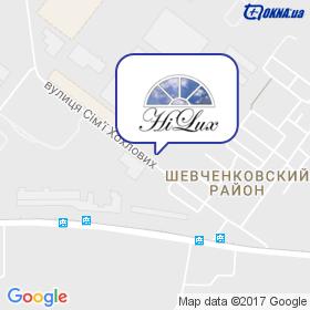 HiLux на карте