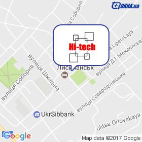 Hi-Tech на мапі