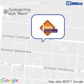 Імакс на мапі