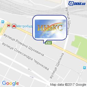 ІНЕКС на мапі