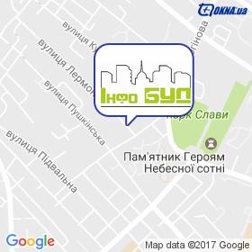 ІНФО БУД на мапі