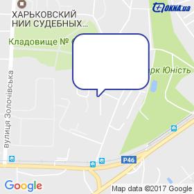 ІНПРОМСТРОЙ на мапі