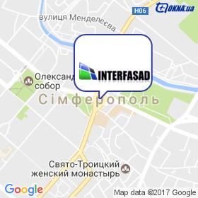 Interfasad на мапі